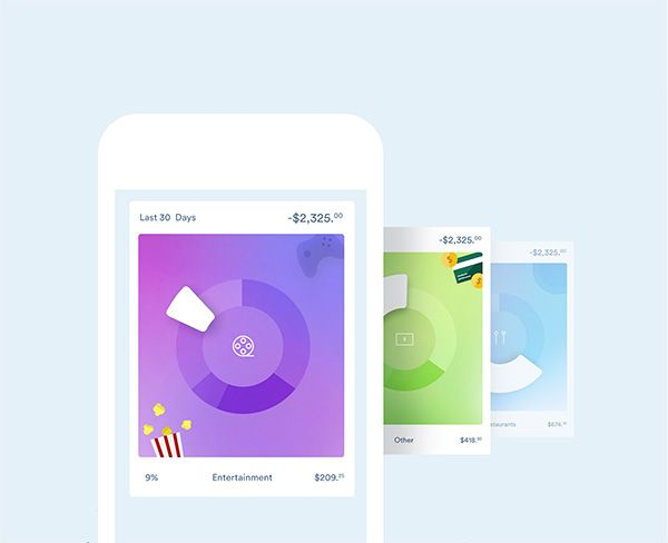 Clarity Money is an iOS app that tracks personal finances