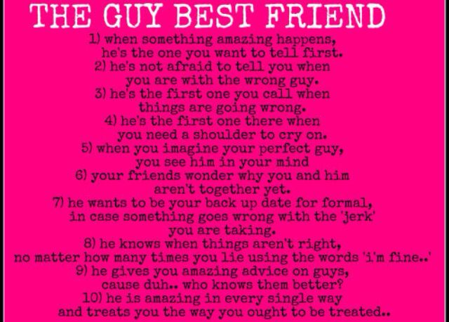 Guys Are A Girls Best Friend Favorite Quotes Guy Friend