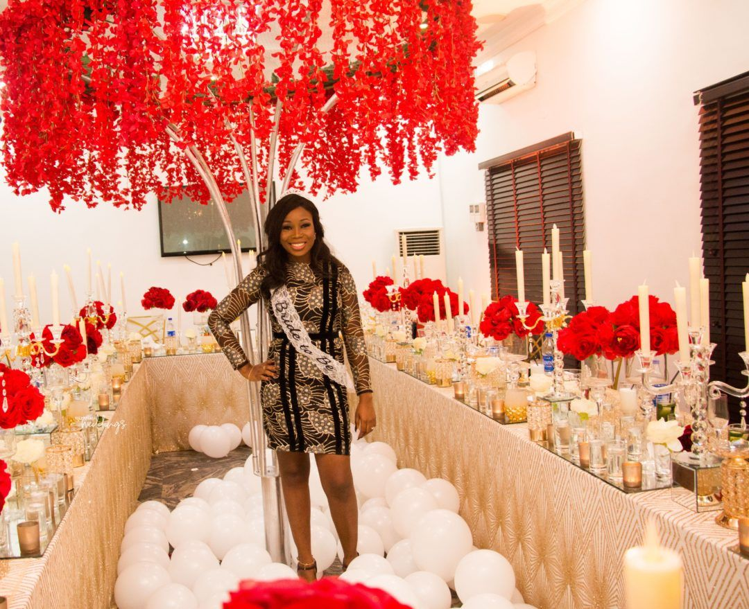 The Team At Partyfully Yours Pulled Off This Fun Bridal Shower For Their Boss Bellanaija Wedding Bridal Shower Inspiration Bridal Shower Bella Naija Weddings