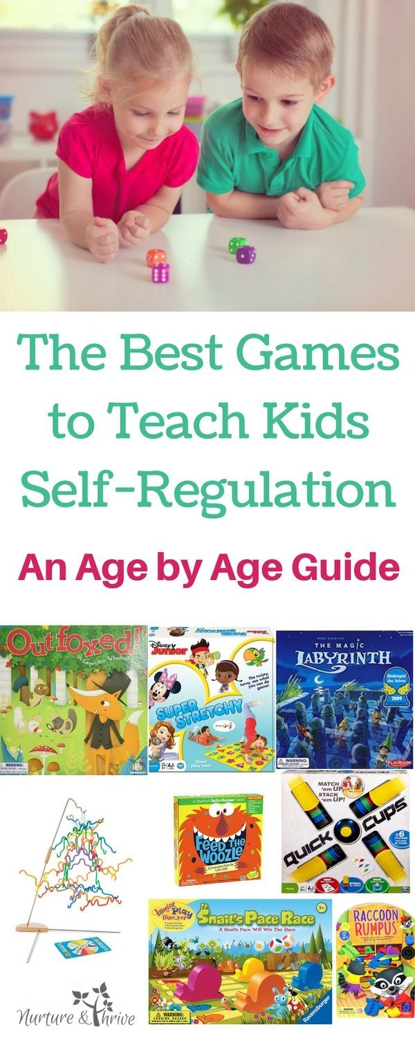 Best Games to Teach Kids SelfRegulation an Age by Age