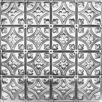 Small Floral Tin Ceiling Tiles To Use On Backsplash From Tin