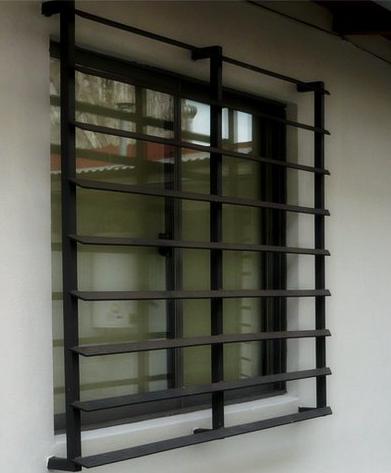 Rejilla de ventana tipo celosía   Ventanas   Pinterest   Rejas de ...