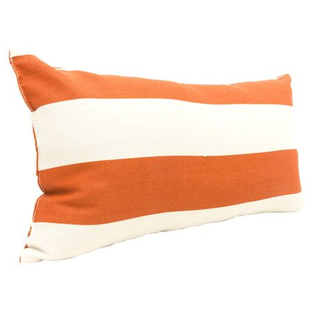 Eco-friendly indoor/outdoor pillow. Made in the USA.Product: PillowConstruction Material: PolyesterCo...