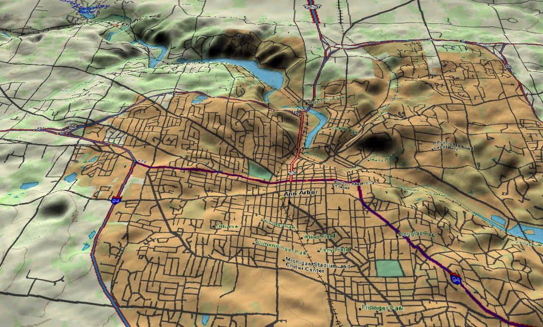 3D, Topo, Map, Ann Arbor, Michigan #AnnArbor | Ann Arbor, MI ... on cassopolis map, east lansing, university of michigan, union pier map, battle creek, u of m map, metro detroit, west dearborn map, pleasant ridge map, forest county township map, grand rapids, harbor springs map, redford twp map, iowa city, alger heights map, detroit map, south bend, pickerington map, new baltimore map, washtenaw county map, traverse city, united states map, sterling heights, michigan map, watertown wis map, catlettsburg map, new lothrop map, michigan stadium, ypsilanti twp map, cutlerville map, washtenaw county, michigan wolverines,
