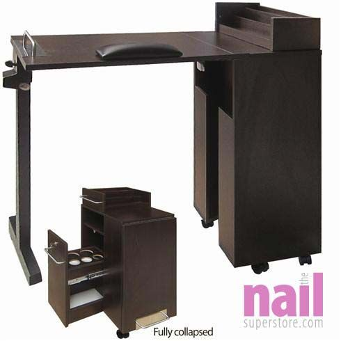 Elora Manicure Table Portable Manicure Table Manicure Table Nail Station