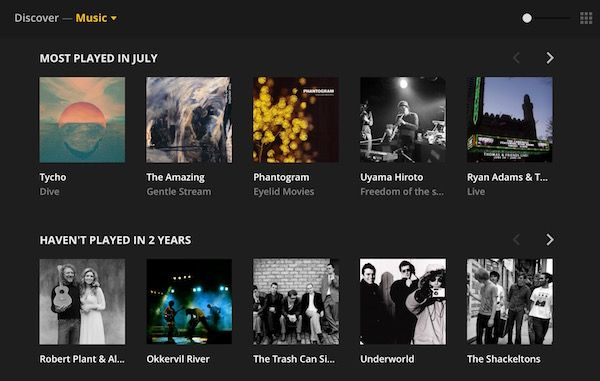 Plex updates web app with smart search, user interface