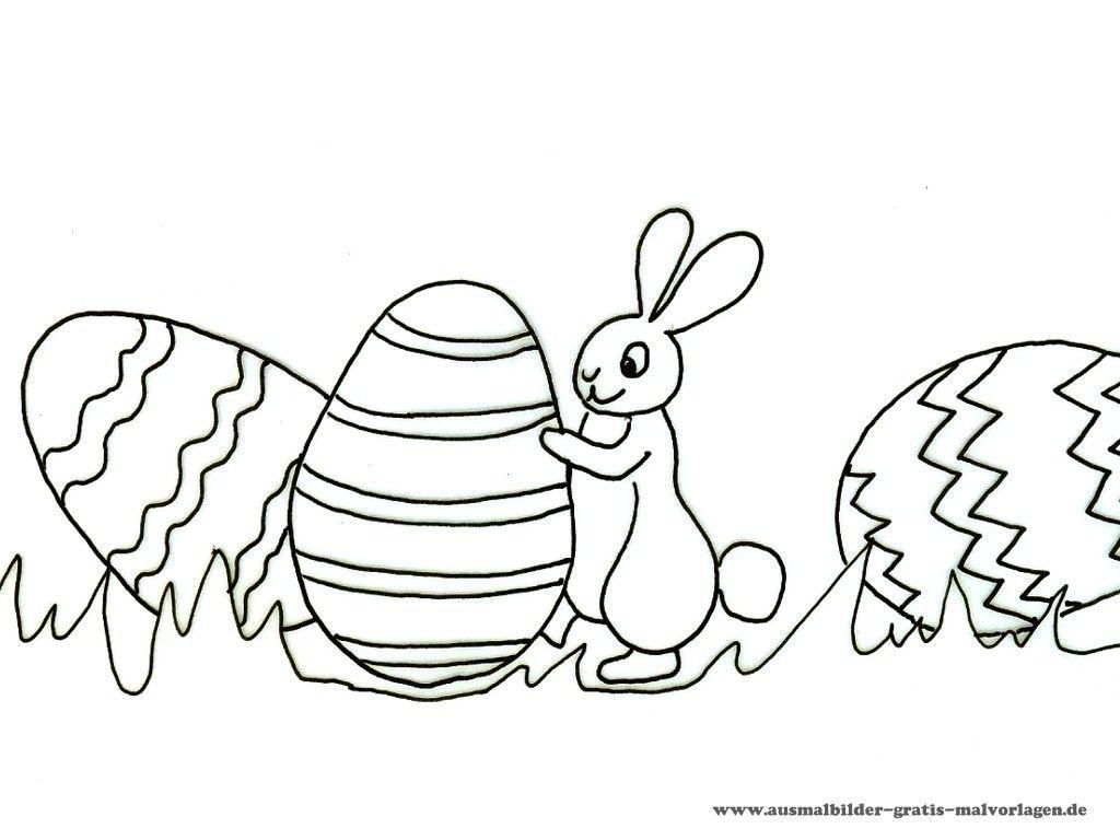 Ausmalbilder Ostern Kostenlos Download 01 | ausmalbilder | Pinterest ...