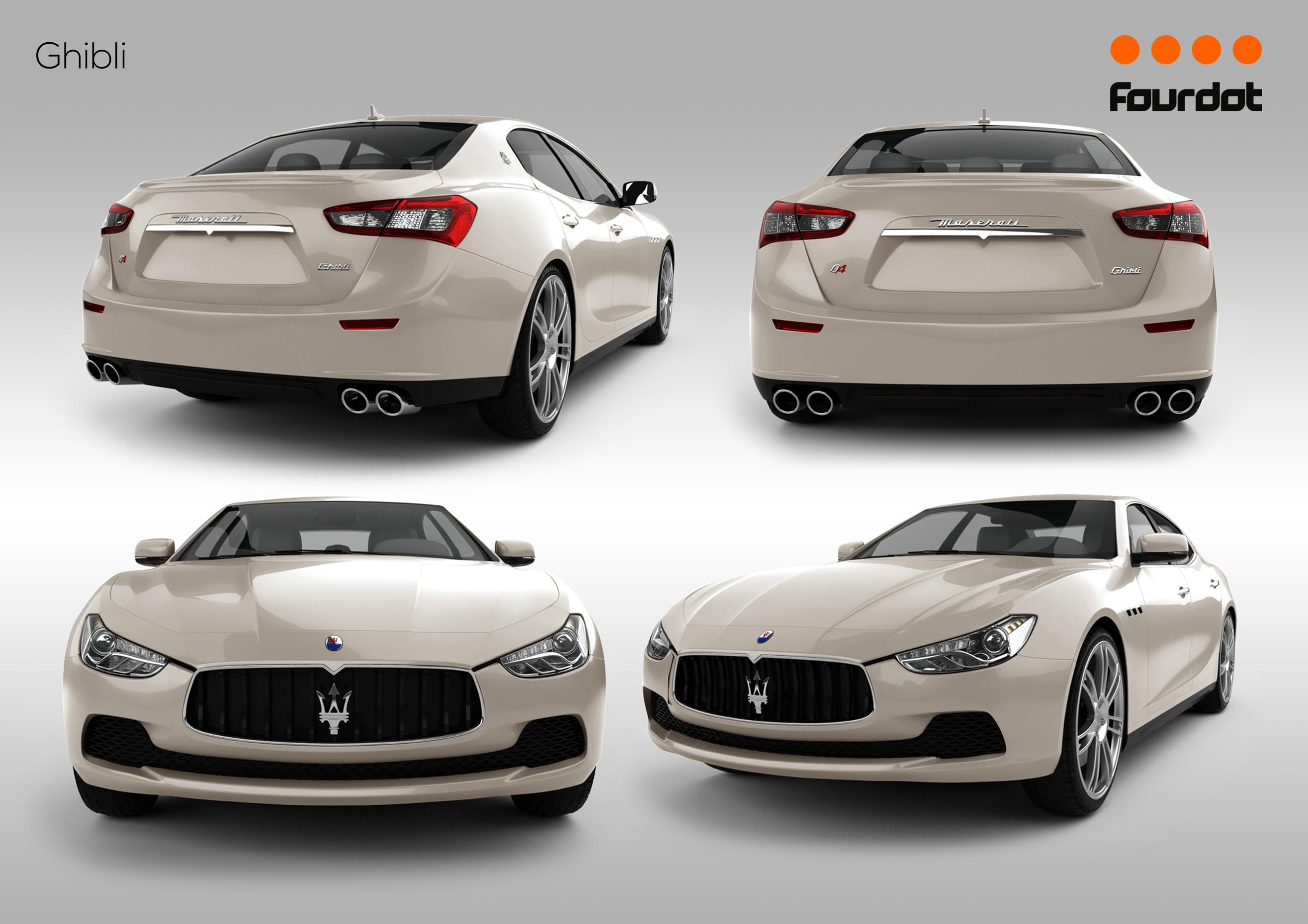 Maserati Ghibli Added to the configurator 04/04/14 https