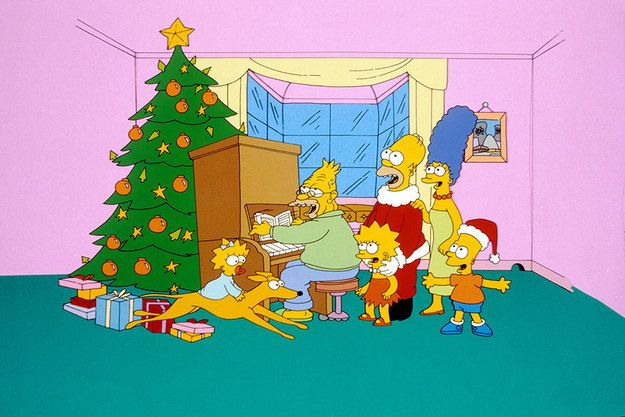 The Simpsons Christmas Episodes.The Very First Episode Of The Simpsons Aired Childhood