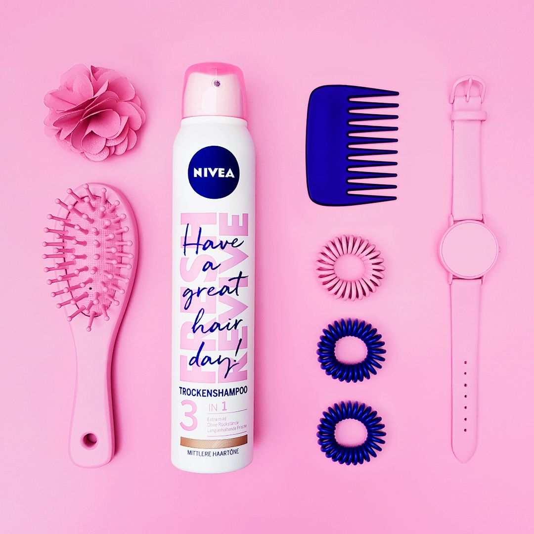 Have A Great Hair Day Das Nivea Trockenshampoo Frischt Die