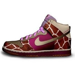 60f2678363c8 Giraffe print Nikes!