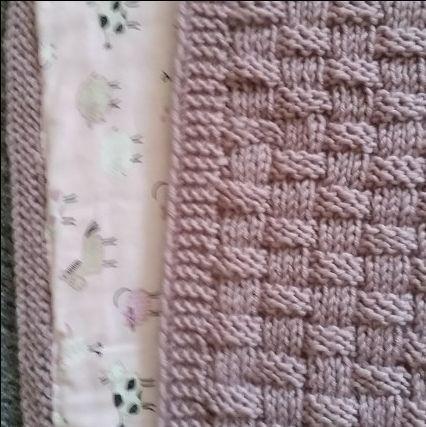 Babydecke mit Futter | Baby | Pinterest | Crochet and Babies