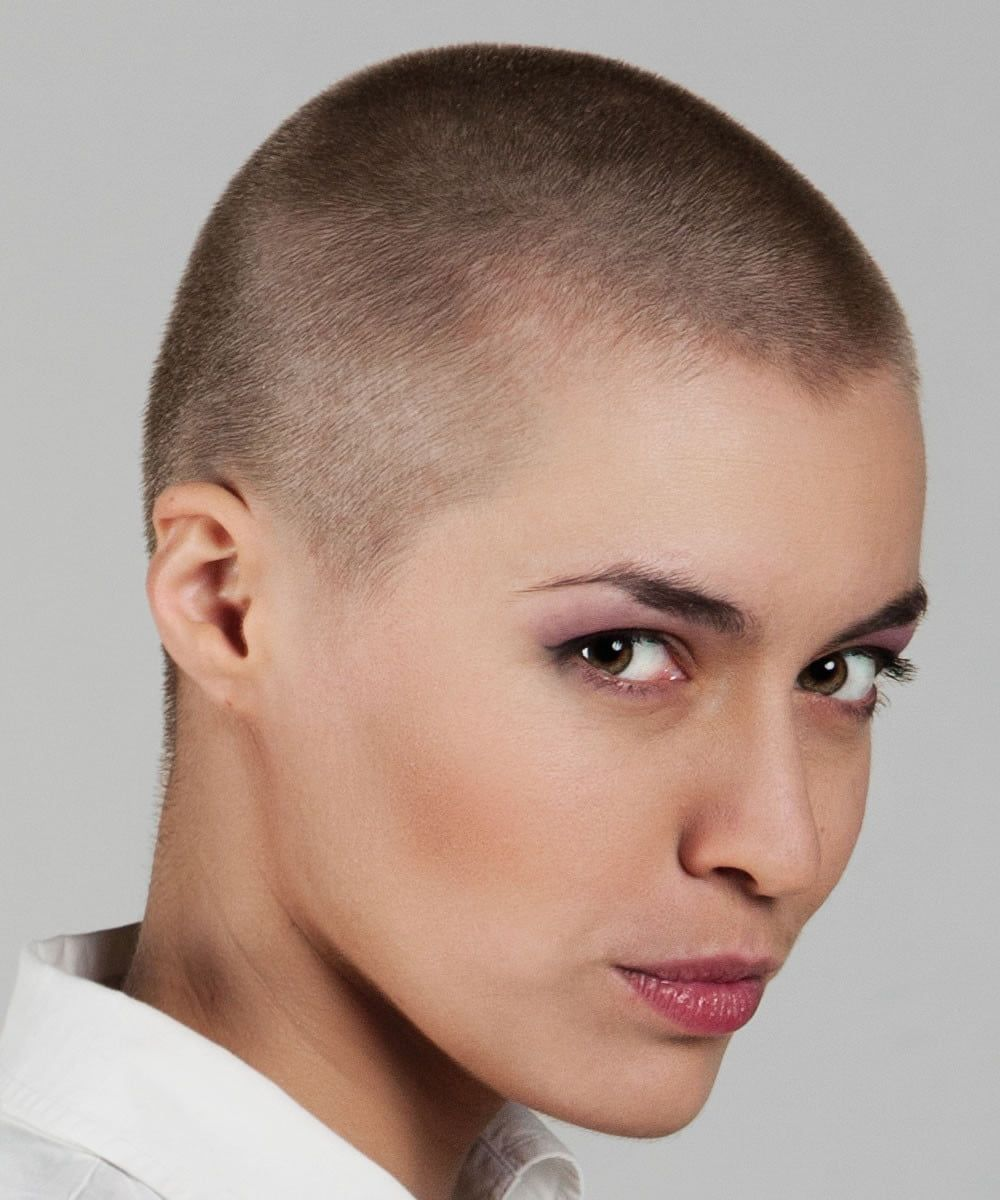 Hairstyles For Women With Baldness Womens Hairstyles Bald Haircut Shaved Hair