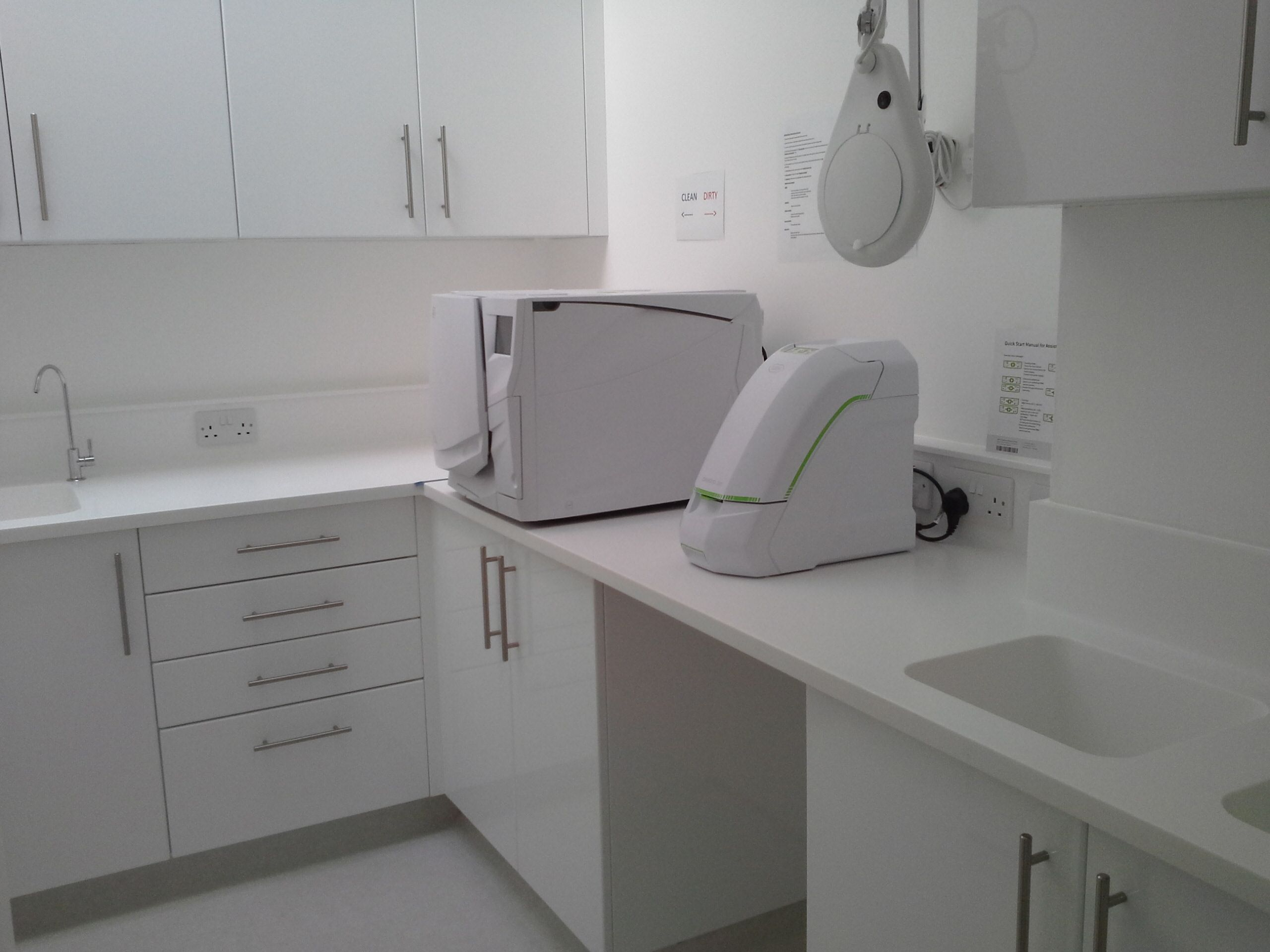 The Central Sterilization Room at K Dental Studios (116