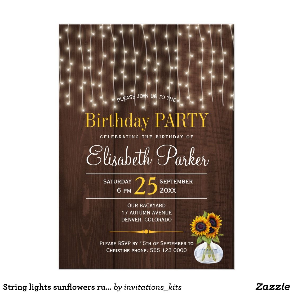 Pin on  Happy Birthday - Invitations and Party Supplies