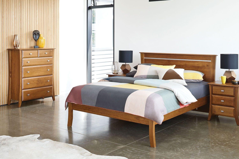 Lynbrook 4 Piece Tallboy Suite by Coastwood Furniture