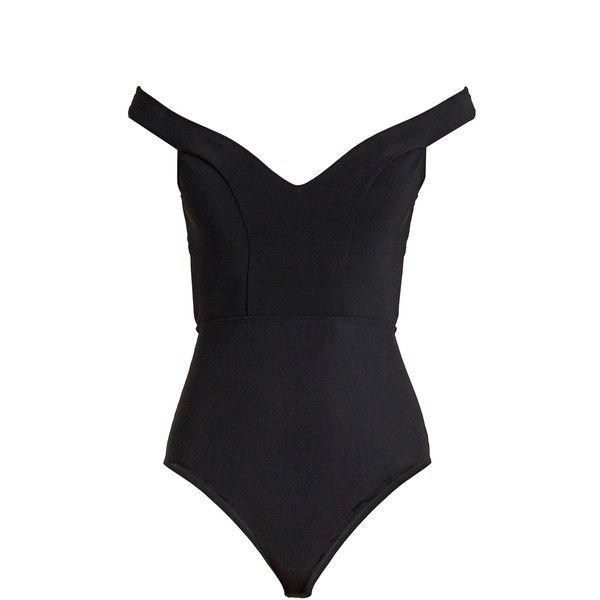 Zimmermann Gossamer Cold Shoulder Swimsuit 337 Liked On