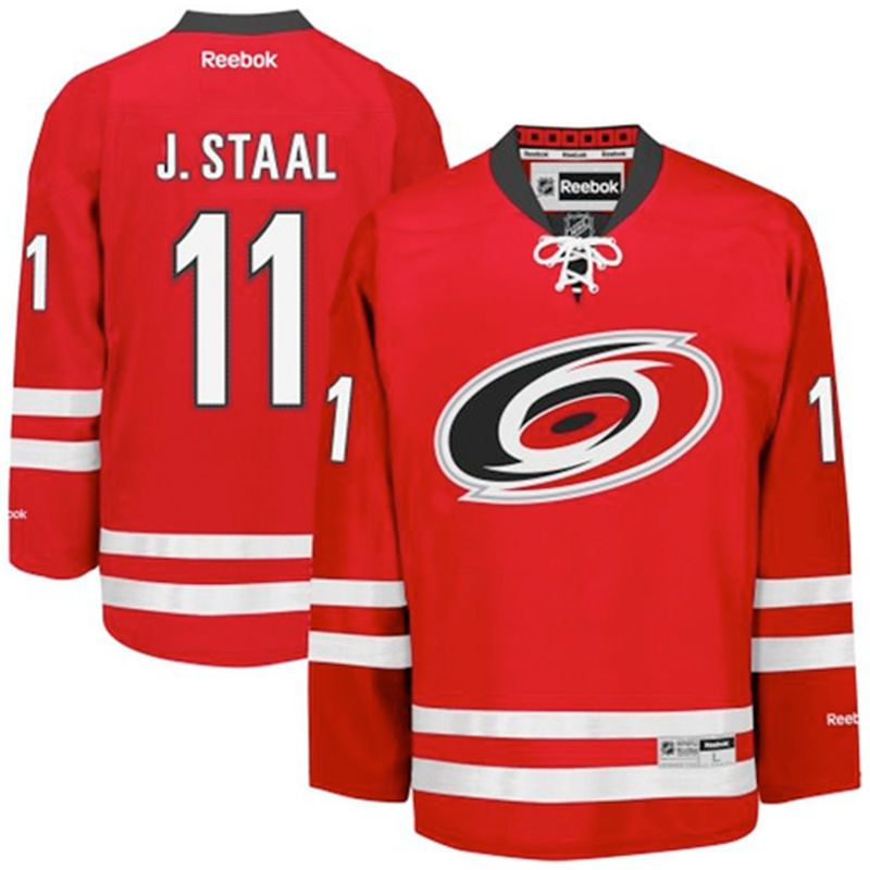 Jordan Staal Carolina Hurricanes Reebok Youth Home Premier Jersey - Red