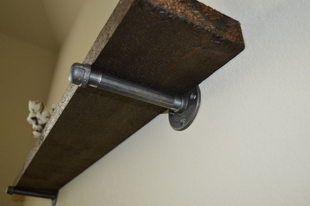 DIY Rustic Cedar Shelves - The Hometeam