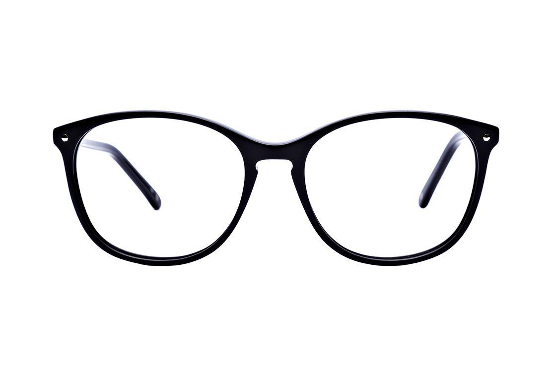 d95dd43605f5 Maripier Morin X BonLook Nadine Pitch Black Eyeglasses For Women, Pitch,  Everyday Fashion,