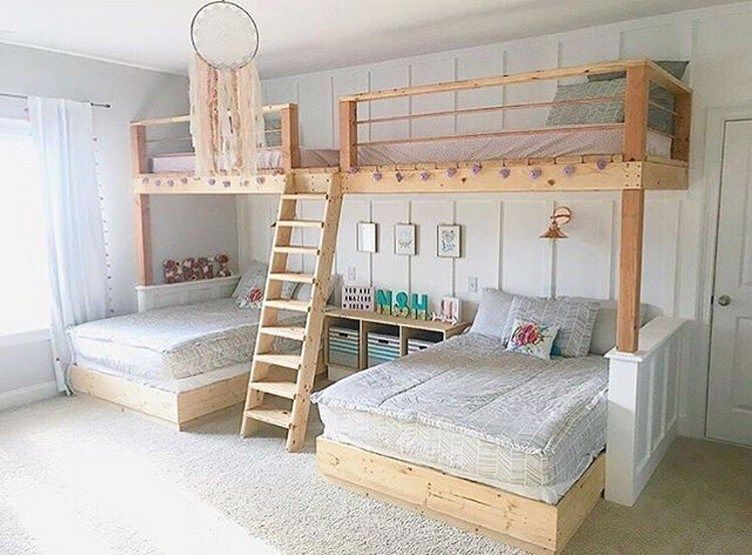42 Best Of Bunk Bed Decoration Ideas What To Look For When Choosing The Right Bunk Bed In 2020 Bed For Girls Room Bunk Bed Rooms Bed Decor