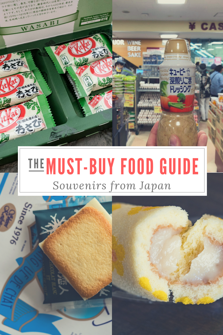 So you're on a trip to Japan and the days are winding down. You're thinking about what to bring back home but not sure what the popular thing is. Here is my take on 9 things you should definitely consider when stuffing food souvenirs in the last remaining spots in your suitcase. #visitjapan #japanesefood #japanesesouvenirs #japangifts #foodie #japan #onlyinjapan