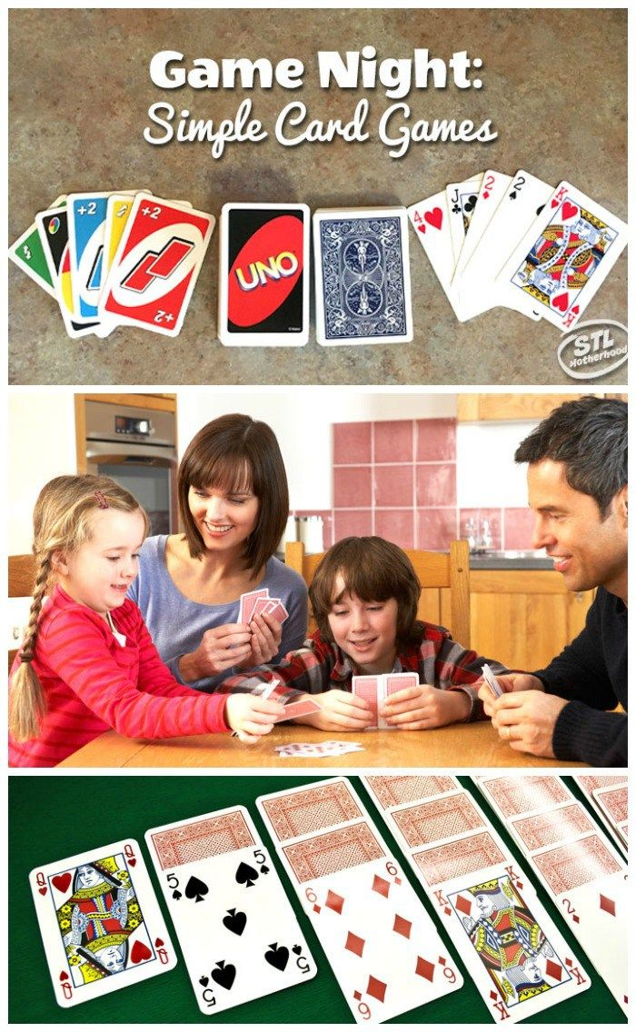 Game Night Card Games For Kids Card Games For Kids Family Fun