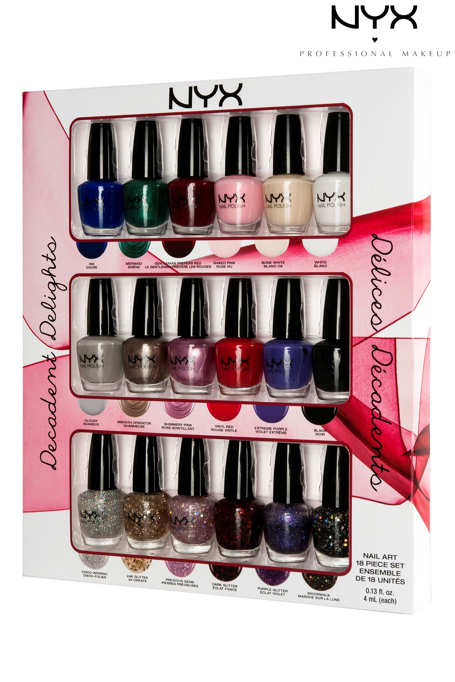 Buy NYX Decadent Delights Nail Art Collection from the