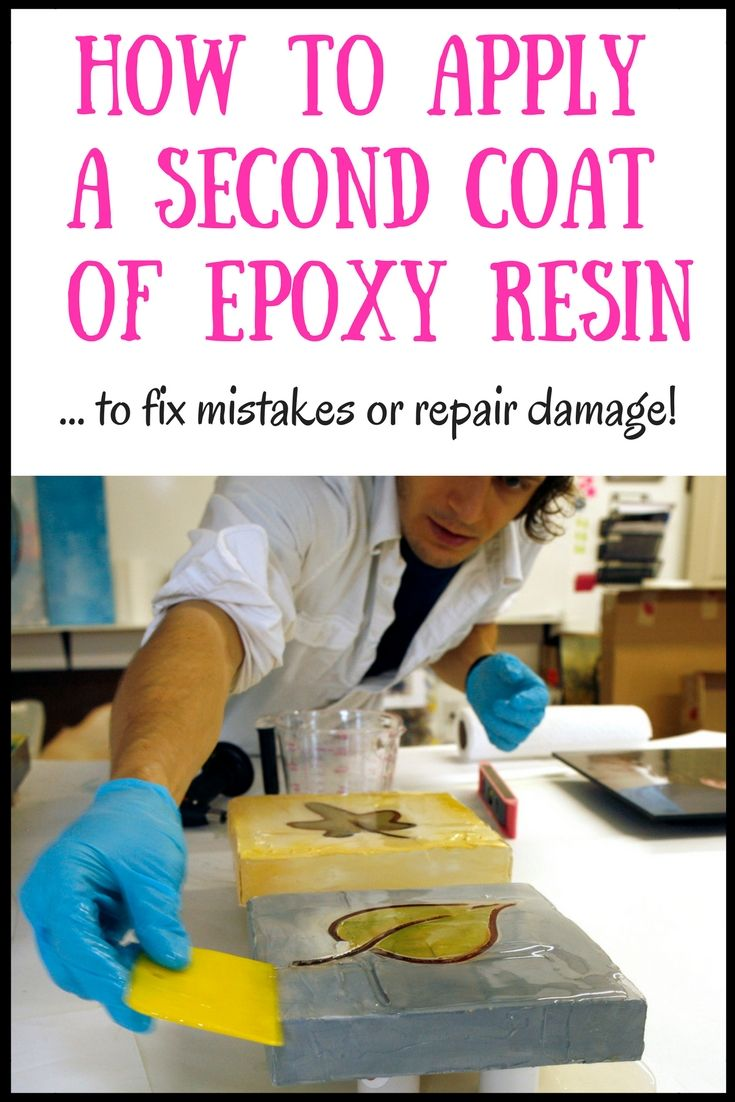How To Apply a Second Coat Of Epoxy Resin | Resin frames | Resin