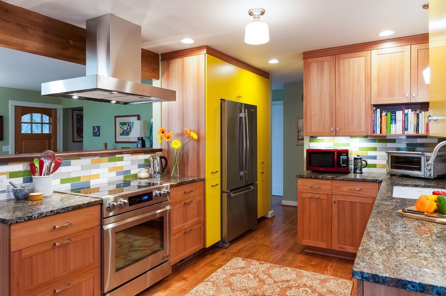 Kitchen by fraley and company with berenson aspire hardware