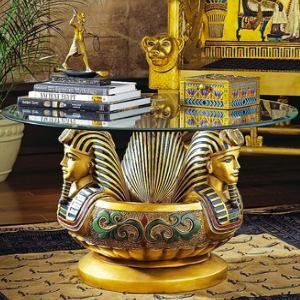 Egyptian Table Home Decor