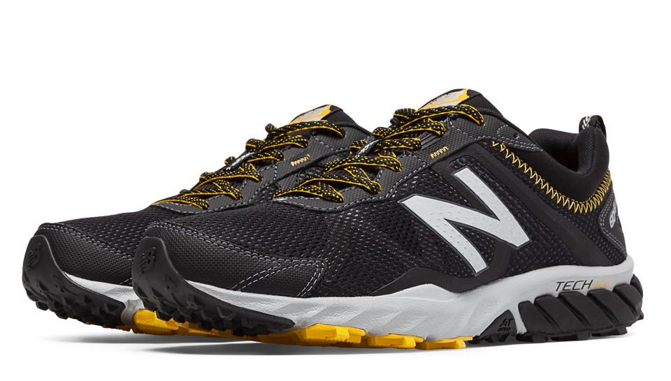 equipo luego puesto  New Balance 610v5 | Black running shoes, Shoes mens, New balance trail