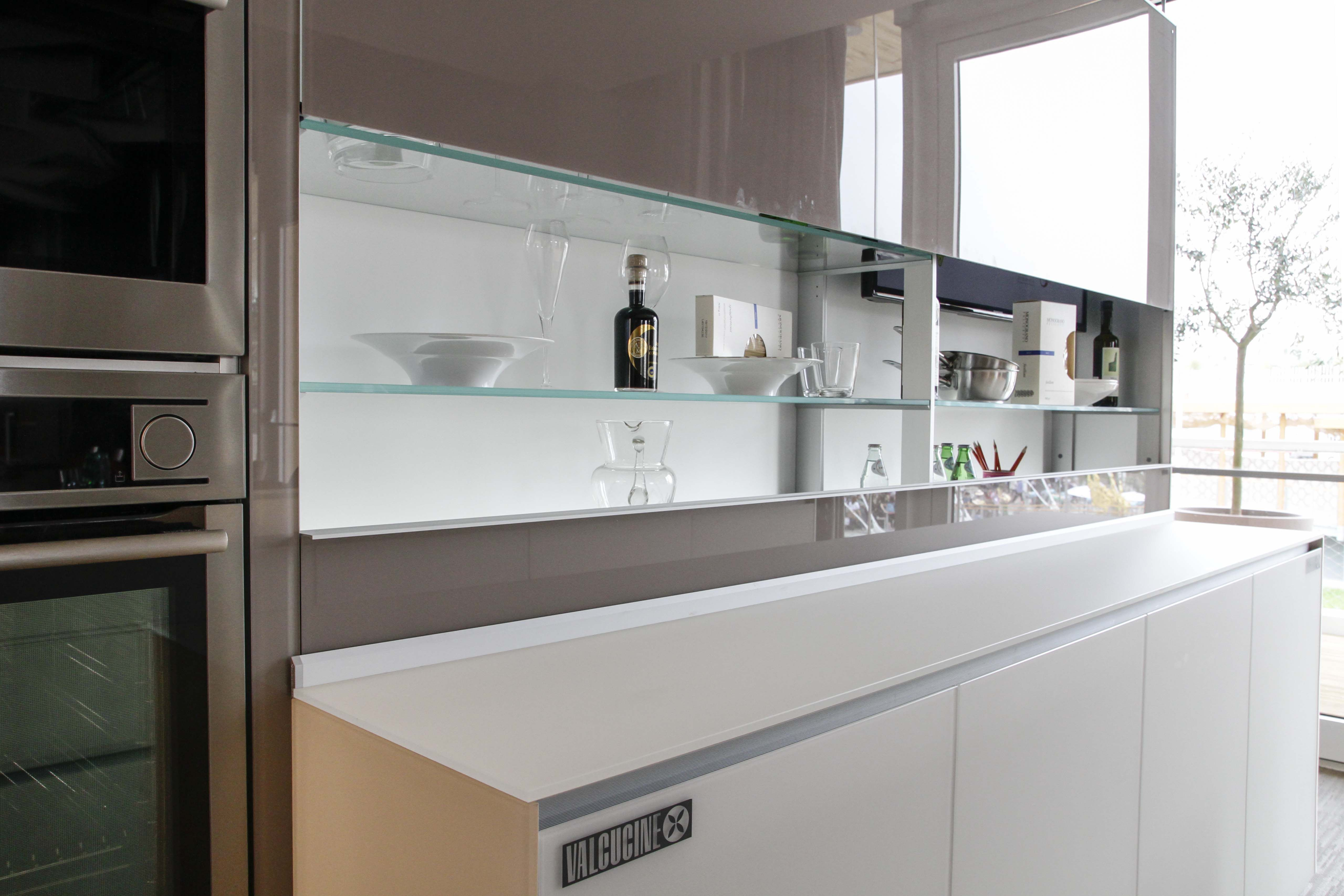 Our Artematica kitchen with New Logica System equipped back panel ...