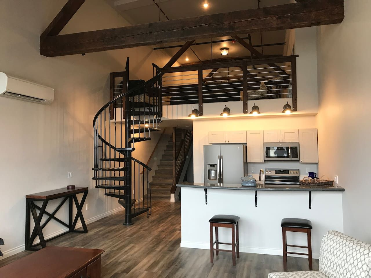 Apartment With Loft Teeny Homes In 2019 Natural Home Decor