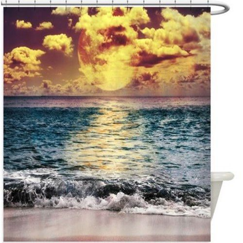 Beach Sunset Shower Curtain 138R