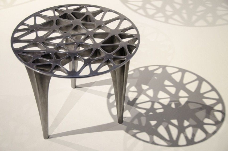 Metal tables from Galerie VIVID – Rotterdam