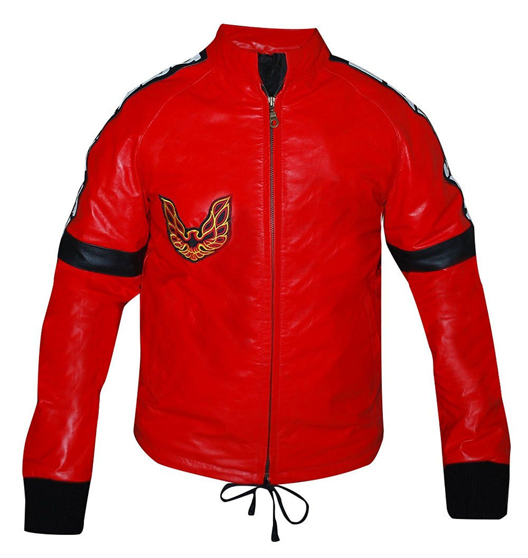 Smokey And The Bandit Burt Reynolds Red Bomber Synthetic Leather Jacket At Amazon Men S Clothing Sto Red Bomber Jacket Leather Jacket Men Leather Bomber Jacket [ 1500 x 1420 Pixel ]
