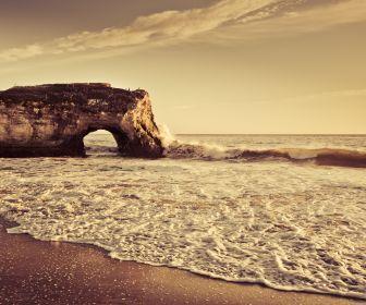 Landscapes Beach Sepia Seascapes Hd Wallpaper Nature Photos Nature Pictures Landscape Photos