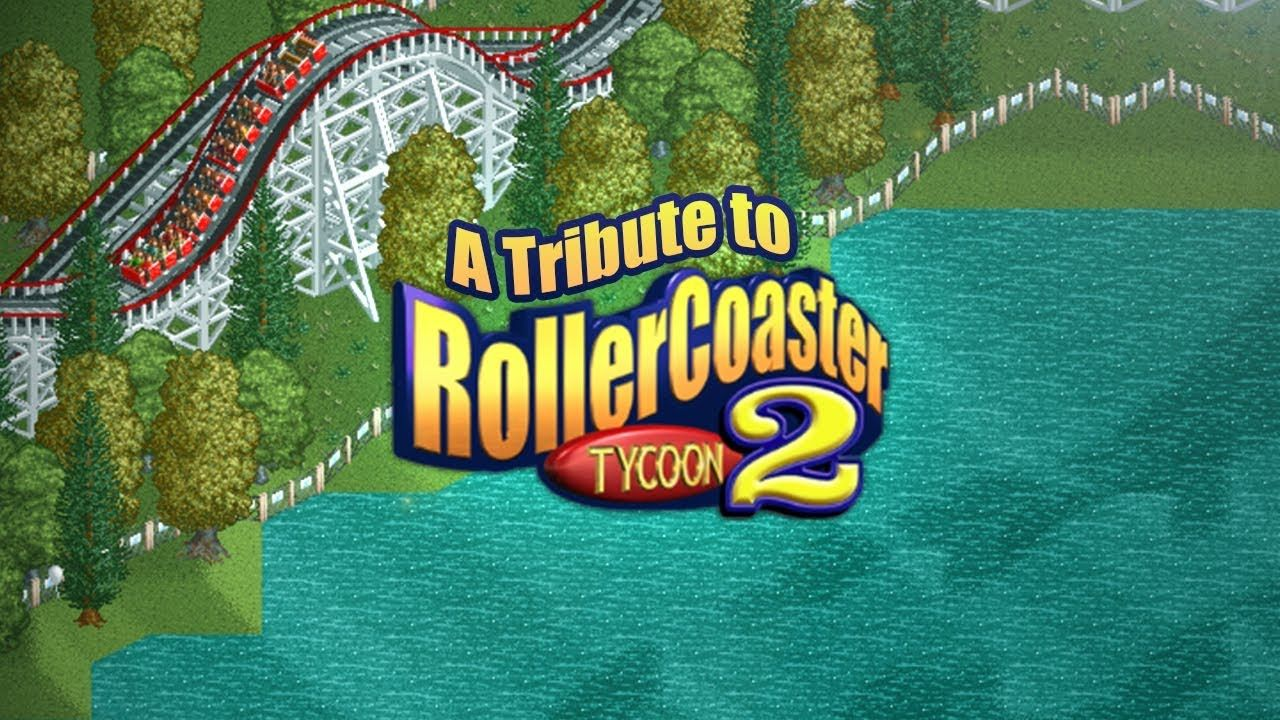 A Tribute to RollerCoaster Tycoon Gamers Games Gaming Online