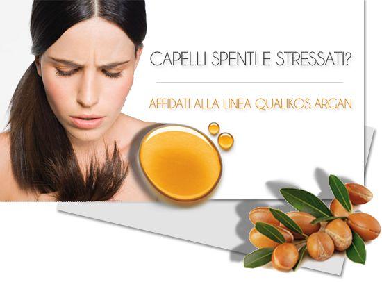QUALIKOS ARGAN, per capelli stressati.