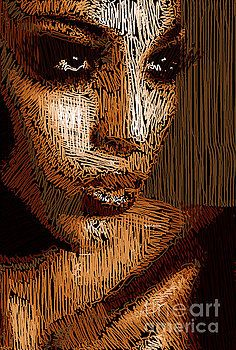 Studio Portrait in Pencil 63 by Rafael Salazar