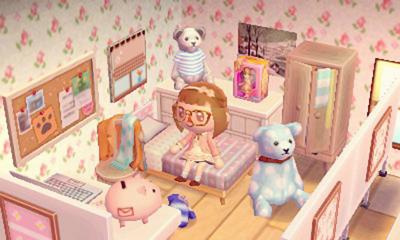 tubby-aurelia: completed messy corner of my room! ( ゚ ゚ ... on Animal Crossing Living Room Ideas  id=79797