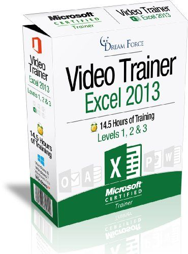 Excel 2013 Training Videos - 145 Hours of Excel 2013 training by