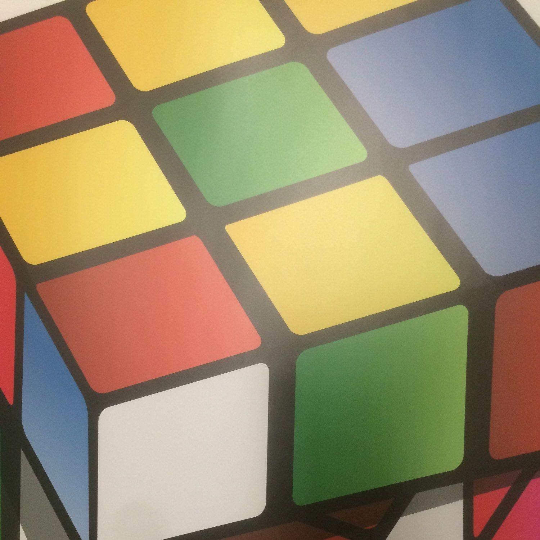 Rubiks Cube Kids Wall Decals Rubiks Cube Wall Art Design, Kids Room ...