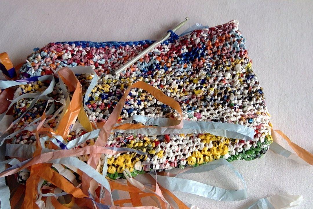Haken Met Plastic Zakken Recycling Pinterest Crochet
