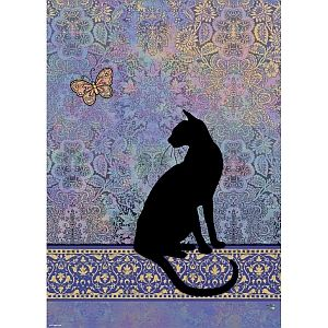 Silhouette Cat Jigsaw