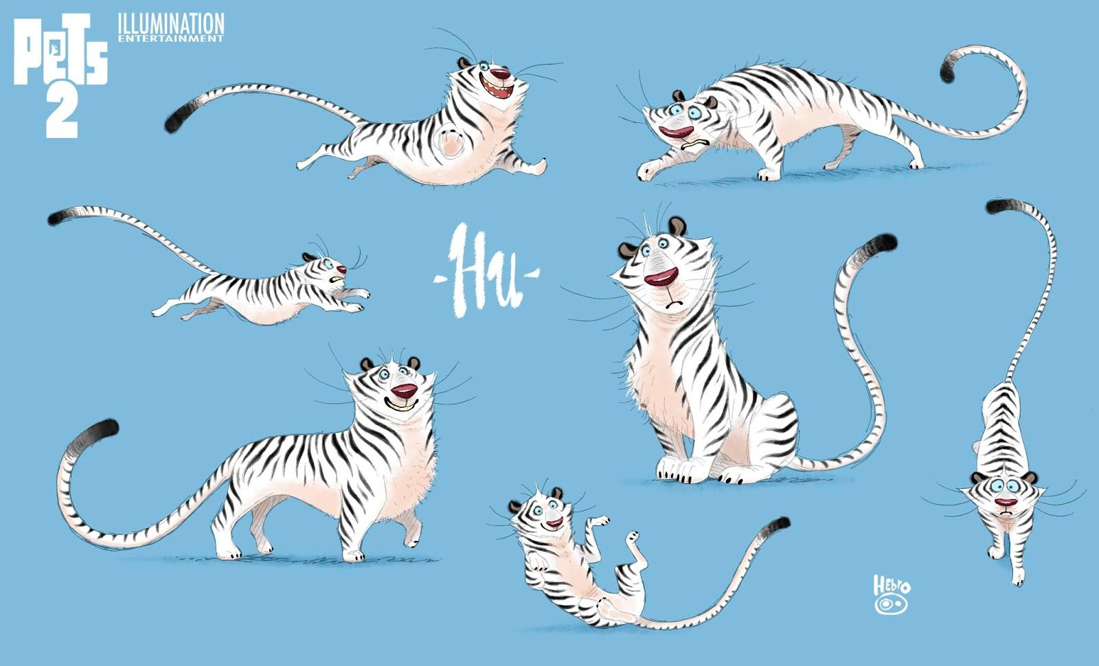 Character Designs Do Filme Pets 2 Por Daniel Fernandez Casas Thecab The Concept Art Blog In 2020 Secret Life Of Pets Character Design Pets