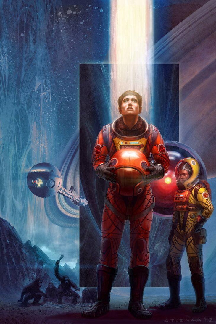 2001: A Space Odyssey redux by jubjubjedi