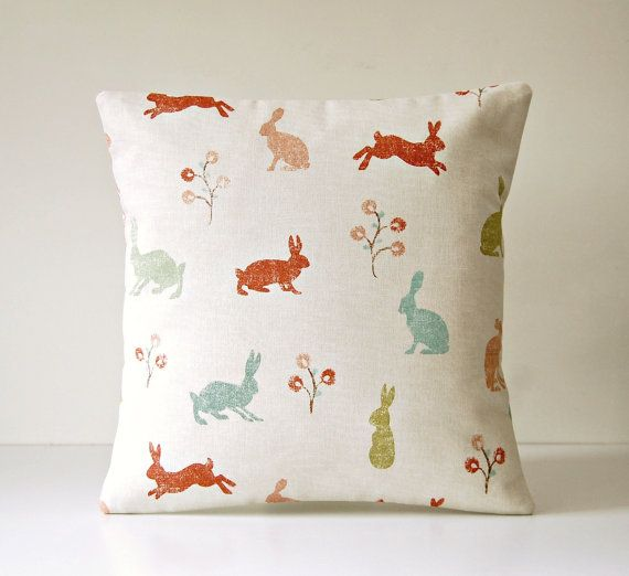 Decorative Pillow Cover Blue Green Terracotta By LittleJoobieBoo Beauteous Terracotta Decorative Pillows