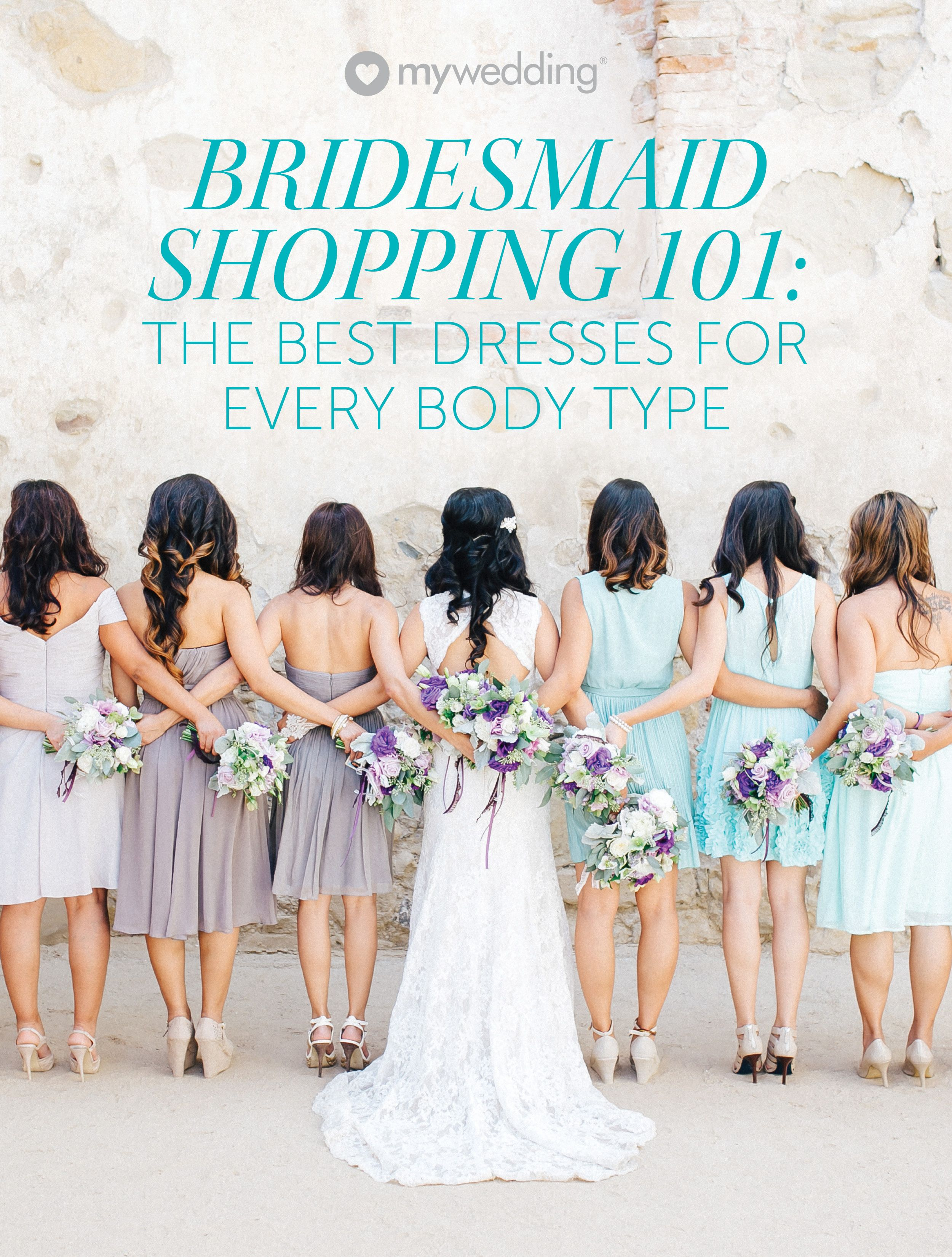Find The Perfect Bridesmaid Dresses For Your Body Type Mywedding Bridesmaid Curvy Bridesmaid Dresses Bridesmaid Dresses